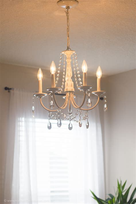 How To Make Your Own Chandelier by Diy Chandelier Easy Tutorial
