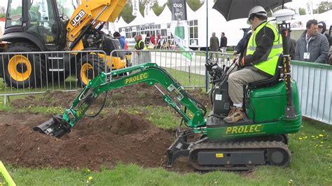 mini excavator  gps  plantworx  youtube