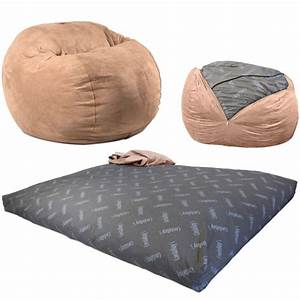 cordaroy39s convertible beanbag chair bed With bean bag chair that converts into a bed