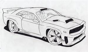 3D Drawings Of Cars In Pencil How To Draw A Car Ferrari ...
