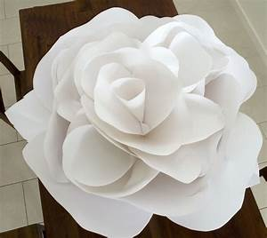 Grace designs giant paper flowers for Giant paper flower template free