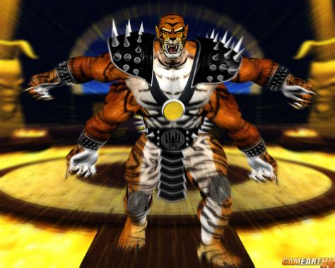 Mk Art Tribute Kintaro From Mortal Kombat Ii
