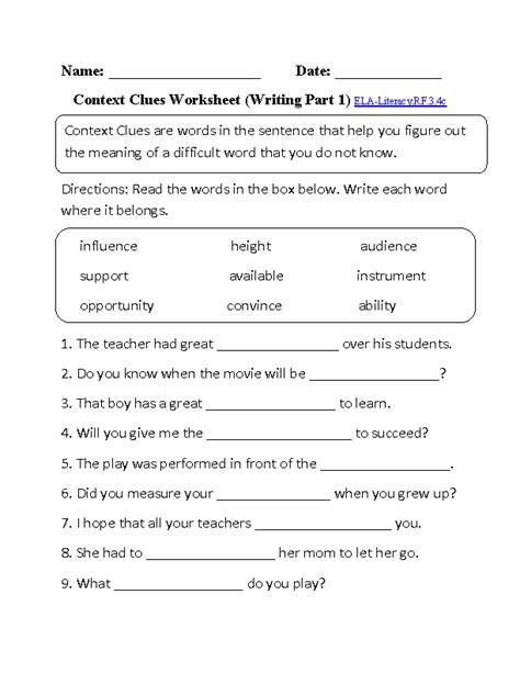 worksheets 3rd grade common aligned