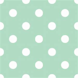mint green polka dots | iconshow
