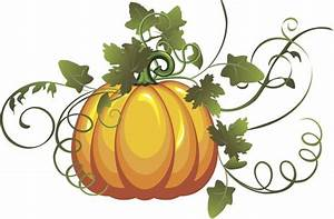 pumpkin vine art | Clipart Panda - Free Clipart Images