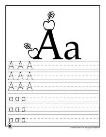 learn letter a woo jr activities