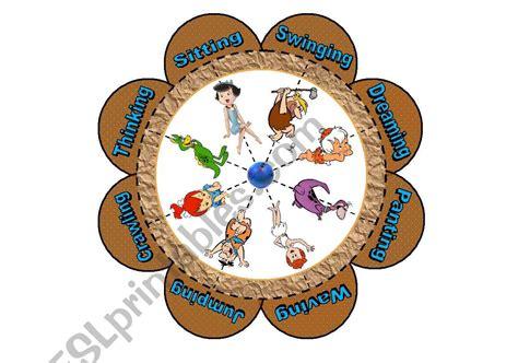 verb flower puzzle   flintstones  piece puzzle
