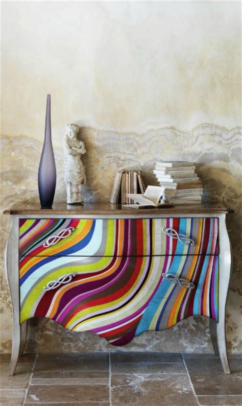 cuisine interieur commode originale pleine de couleurs photo 9 15 un