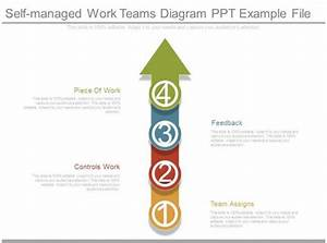 Self Managed Work Teams Diagram Ppt Example File