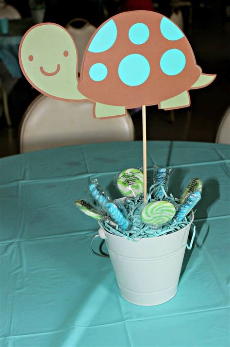Turtles Baby Shower Theme by Baby Shower Turtle Centerpieces All My Creations Baby
