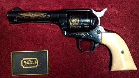 colt saa commemorative wayne revolver for sale