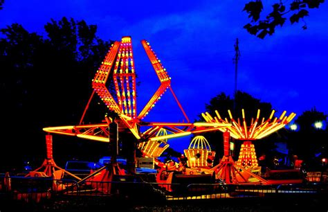 Carnival Lights by Carnival Lights Photograph By Erin Rednour