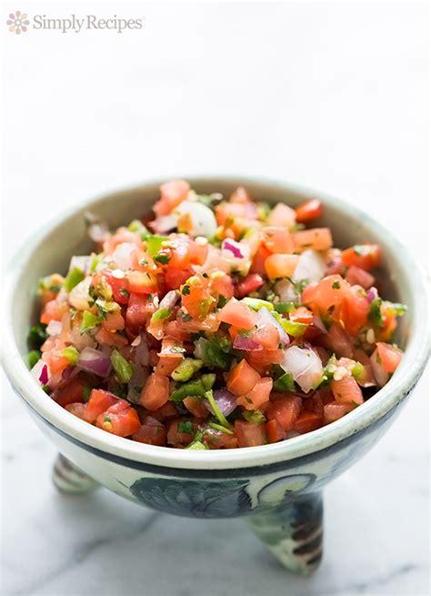 how to make salsa fresh tomato salsa pico de gallo recipe simplyrecipes com