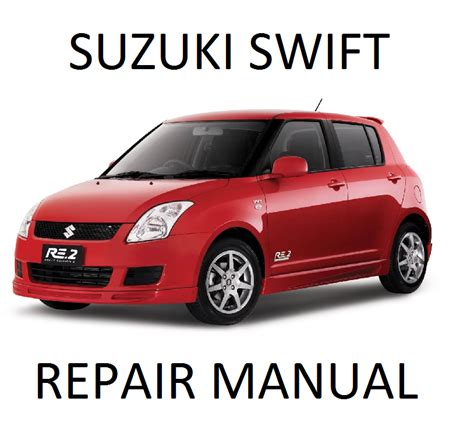 free auto repair manuals 2001 suzuki swift engine control suzuki factory service repair manuals