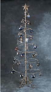 ornament trees spiral wire ornament tree