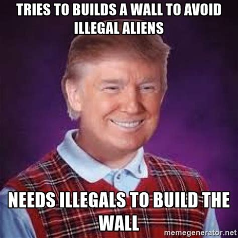 Trump Wall Memes - big list of hilarious donald trump memes vibe best