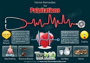 Home Remedies for Palpitations | Top 10 Home Remedies