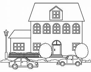 Coloriage a imprimer une maison doryfr coloriages for Plan de maisons gratuit 16 coloriage un skieur dory fr coloriages