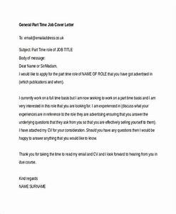 8 part time job cover letter templates free sample With cover letter for part time job no experience
