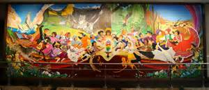 Denver Airport Conspiracy Murals by The Denver Airport Will Be A Paradise After Our