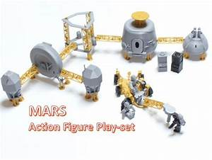 Astronaut Action Figure Play Set for Alien invasion of ...