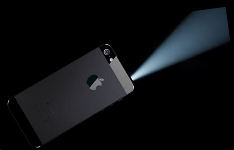 built in projector in iphone 7 can attract executives and