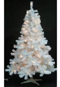 the white princess pre lit fir tree multi coloured