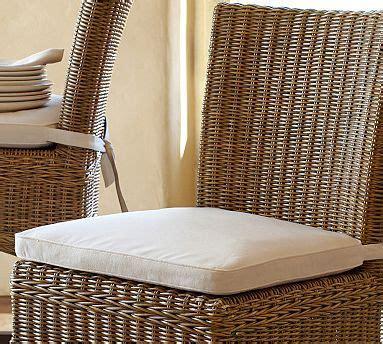 Jacquelyne Dining Chair Cushion #potterybarn $49   Has