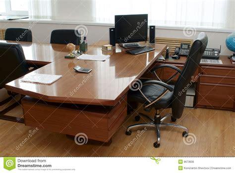 bureau directeur le bureau du directeur image libre de droits image 9673606