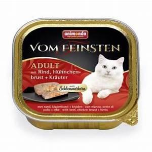 Bestes Katzenfutter Nass : animonda vom feinsten mit schlemmerkern mit rind ~ Watch28wear.com Haus und Dekorationen
