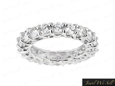400ct Round Cut Diamond Trellis Woven Eternity Band. Golden Bands. Silicone Bracelet. Infinity Band Ring. Super Duty Platinum