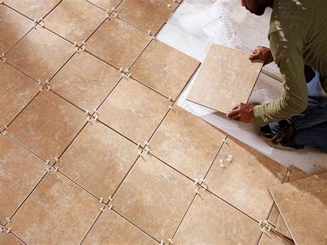 Floor Tile Installation by How To Install Ceramic Floor Tile