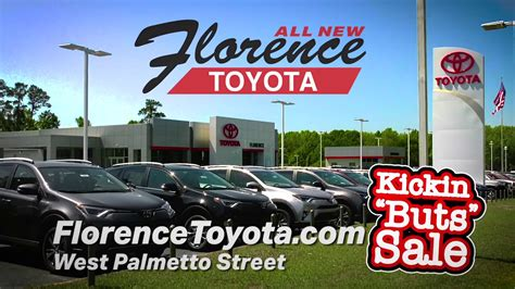 Florence Toyota by Kickin Quot Buts Quot Sale At Florence Toyota