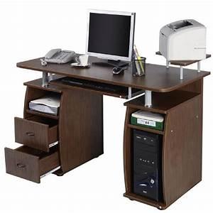 Petit Bureau Pour Ordinateur : meuble pour ordinateur de bureau petit meuble de rangement bureau lepolyglotte ~ Teatrodelosmanantiales.com Idées de Décoration