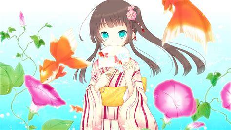 Wallpaper Anime girl, Blue eyes, HD, Anime, #3521