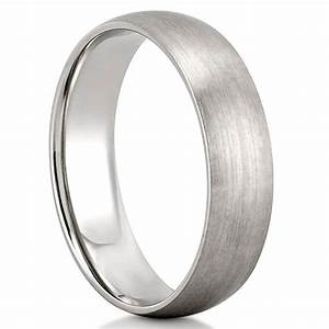 matte wedding band men39s domed matte wedding band do amore With matte wedding ring mens