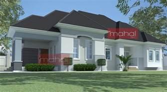 homes with open floor plans 4 bedroom bungalow plan in nigeria 4 bedroom bungalow