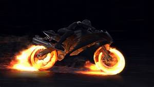 Motorcycle Fire Reveal By Voxyde