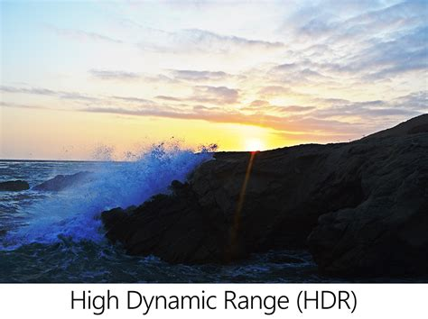 high dynamic range hdr photography and videography with universal windows platform uwp