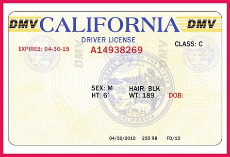 blank california driver s license template blank drivers license template sop exles