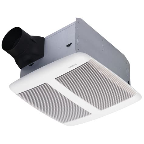 3 sones bathroom fan broan qtre110 ultra silent bath fan 1 3 sones 110 cfm