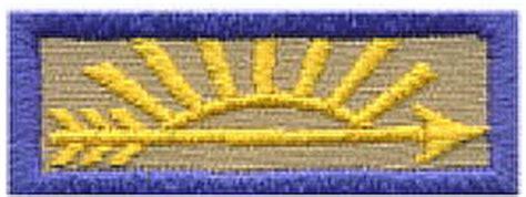 arrow of light patch arrow of light award