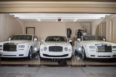 Floyd Mayweather's White Car Collection