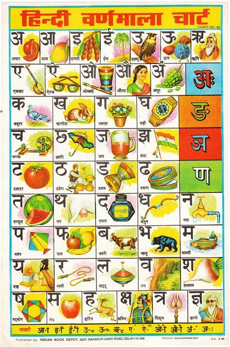 hindi alphabet chart  love     usual