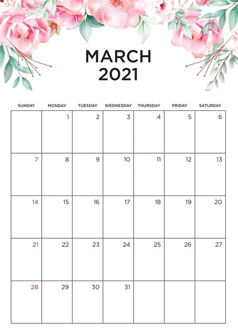 Below are public holidays for new zealand for the calendar year 2021. Free March 2021 Calendar Vacations List Printable - Set ...