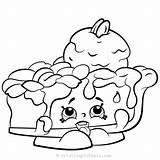 Shopkins Coloring Season Pie Drawing Printable Donut Kleurplaten Bakery Schattige Colorear Dibujos Colouring Shopkin Sheets Emoji Imprimir Pintar Cakes Cupcakes sketch template