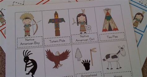 native american theme preschool preschool printables american kinder 847