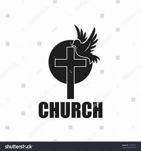 Cross Dove Church Logo Stock Vector 517869313 - Shutterstock