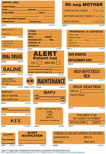 iv medication medical triarc medical medical With iv medication labels