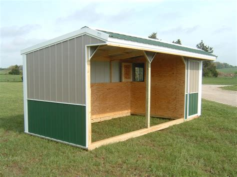 Run In Shed For Horses by Run In Shed With Tack And With Feed Room